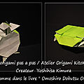 Origami animaux drôles -tortues-