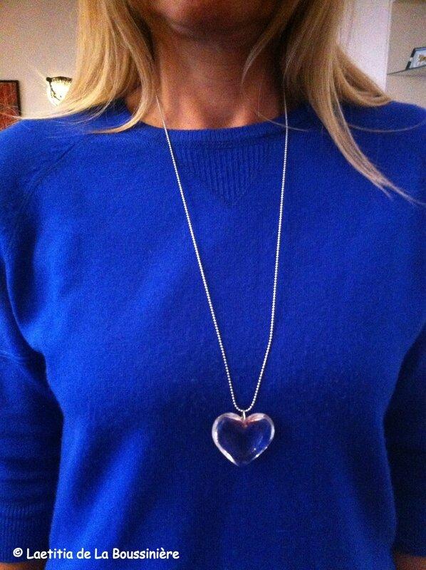 Le collier Coeur de Mme