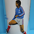 Verre ... football henri michel * promo foot fff 1978