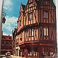 Dijon maison aux trois pignons rue Chaudronnerie