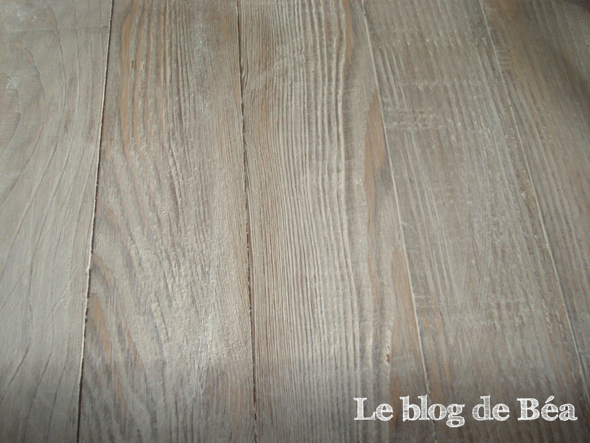 DIY fabriqué un plateau en bois de palette