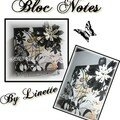 Bloc notes scrapbooké by linette
