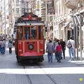 L'ancien tram d'istanbul