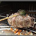 Gigot de sanglier barbecue