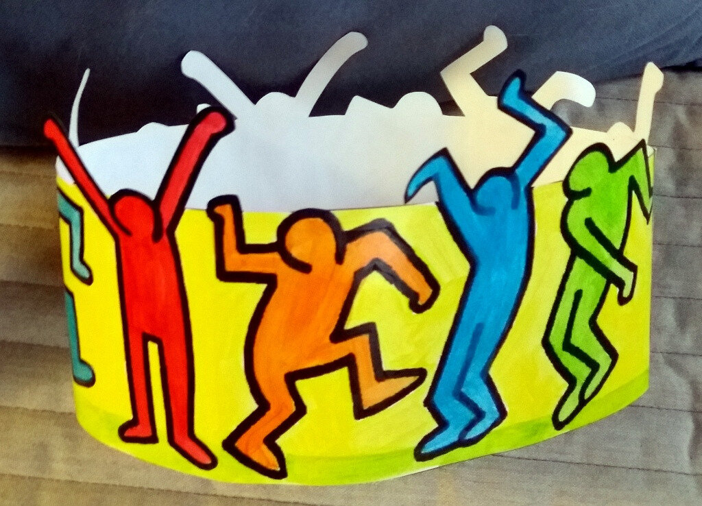 Couronne Keith Haring
