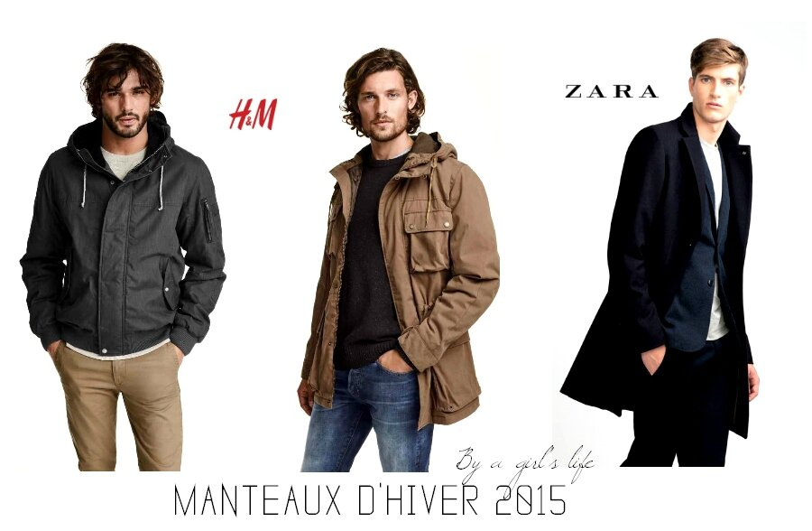 shopping manteaux hiver 2015 homme