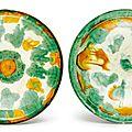 Two sancai-glazed bowls, Liao dynasty
