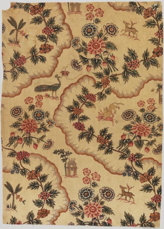 Textile ( India ), 1750-1800 cotton
