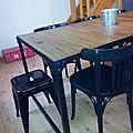 Relooking chaises bistrot pour le fison...