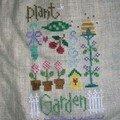 Garden sampler de Lizzie Kate