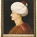 A portrait of suleyman the magnificent, by a follower of gentile bellini, italy, probably venice, circa 1520