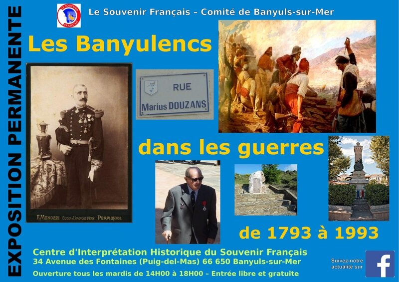 Affiche exposition CIH Banyuls