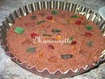 Diplomate ou pudding mascarpone chocolat fruits confits 005