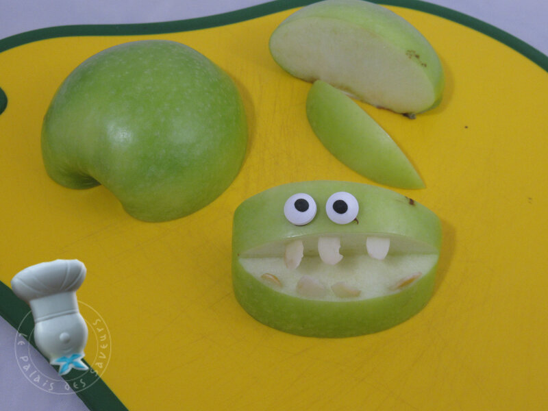 Monstres sur pomme