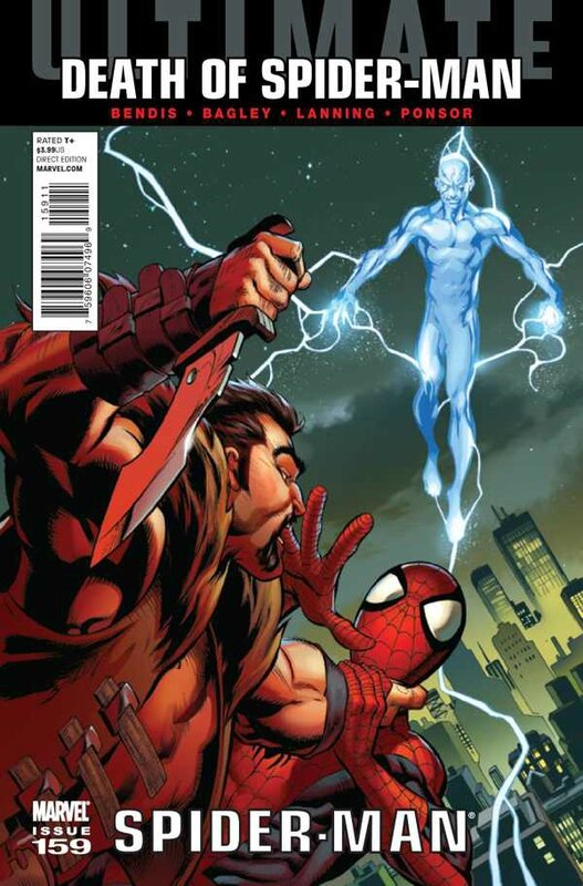 ultimate spiderman 159