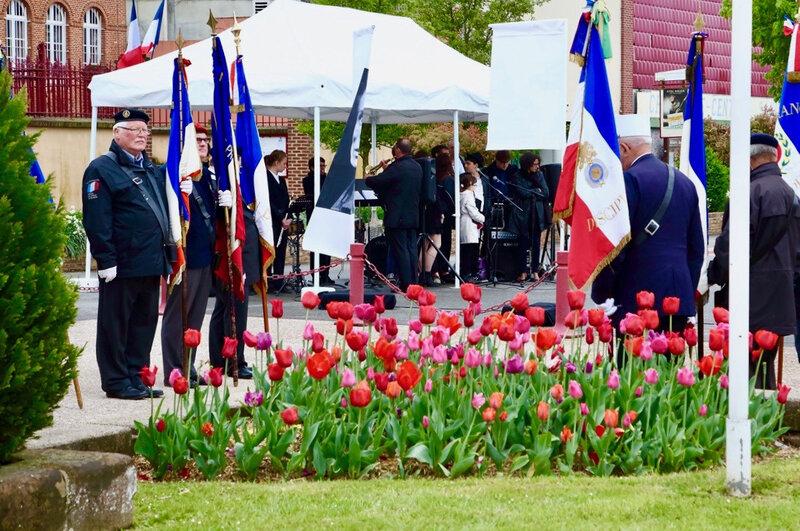 FLEURISSEMENT 2018 MONUMENT tulipes