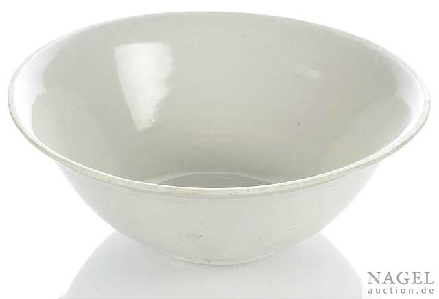 A rare deep bowl of Xuanzhou or Ding type stoneware, China, Five Dynasties or Northern Song Dynasty