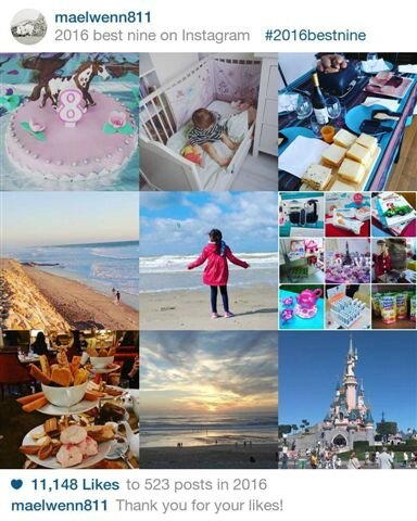 Best nine 2016 ©Kid Friendly
