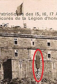 1919 08 15 Belfort CPA Fêtes patriotiques Château Lion Légion d'Honneur R