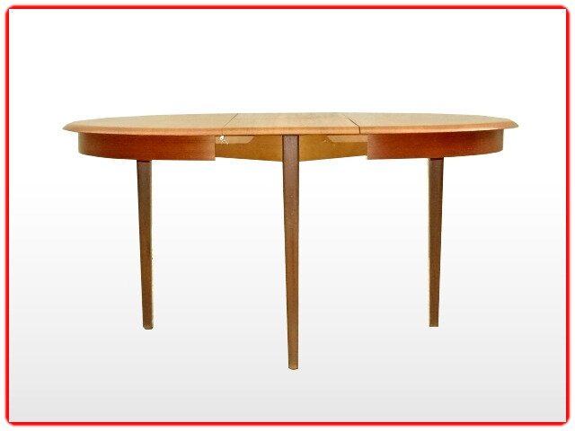 table scandinave teck