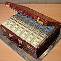 Caisse magique d'argent du maitre marabout