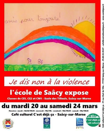 je dis non à la violence