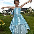 Une princesse dans son jardin