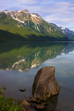 Chilkoot_Lake_au_lever