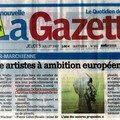Soixante artistes à ambition européenne / sixty artists get european opportunities