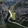 Gorges du Verdon, route des crêtes, le Fayet (83)