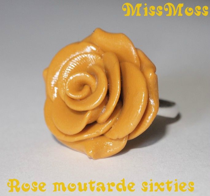 rose moutarde sixties