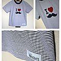T-shirts en série # 5 # 6