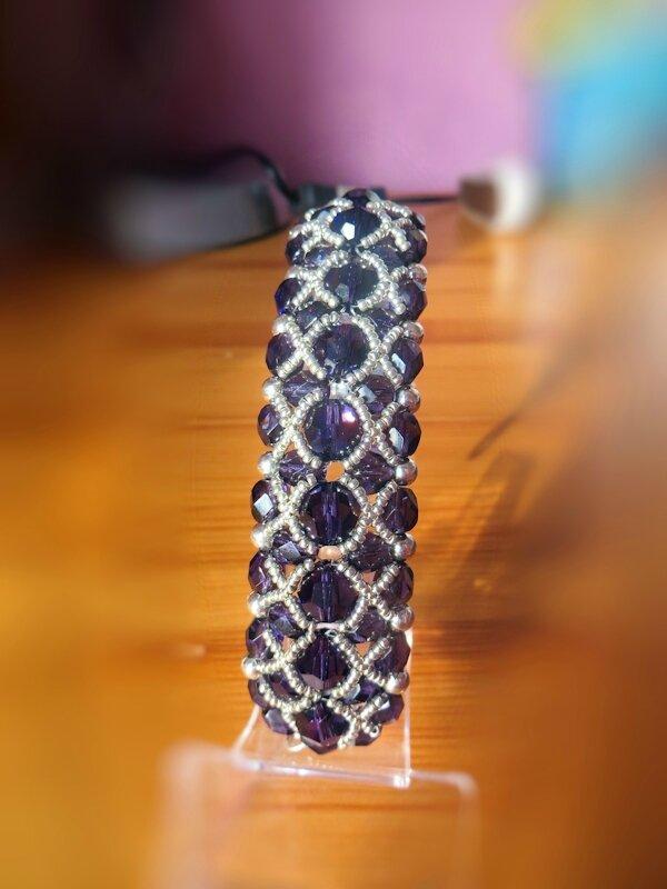 sherazade purple velvet
