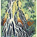 Pour se rafraîchir, une cascade de hokusai