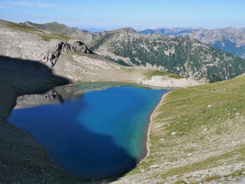 Lac de la Petite Cayolle
