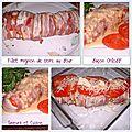 Filet mignon de porc au four façon orloff