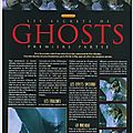 Les secrets de ghosts: black & white n°24, 25 et 26, mars à novembre 1998