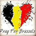 Pray for bruxelles. . .