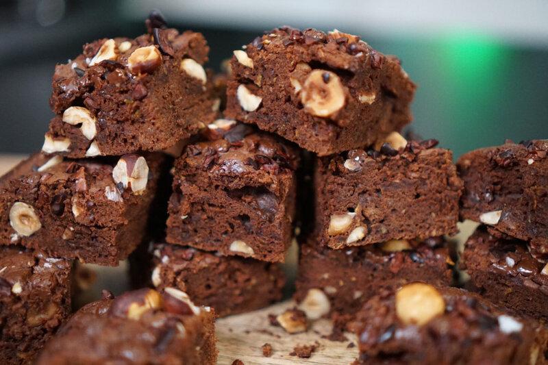 Brownies sans beurre et 2 fois moins de sucre