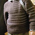crocheter pull raglan garçon