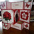 Carte et cadeaux reçu pour mon anniversaire