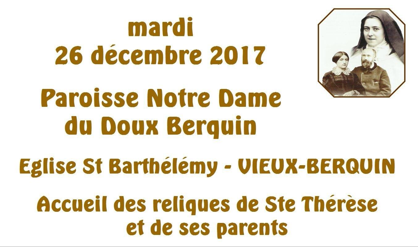 2017-12-26-accueil reliques Ste Thérèse-VIEUX BERQUIN (10)