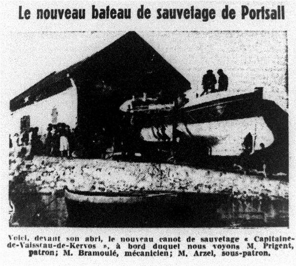 CH22 - OF du 14-06-1952 - CV de Kerros à Portsall