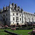 Le château de chenonceau vu par mr c. chevalier.