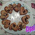 Muffins pomme/pépites de chocolat