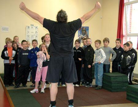 FÊTE SPORT 2010 scolaires haltérophilie