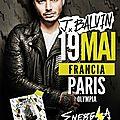 Jose balvin en concert dans paris le 19 mai 2017