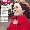 Paris match 25/09/1954