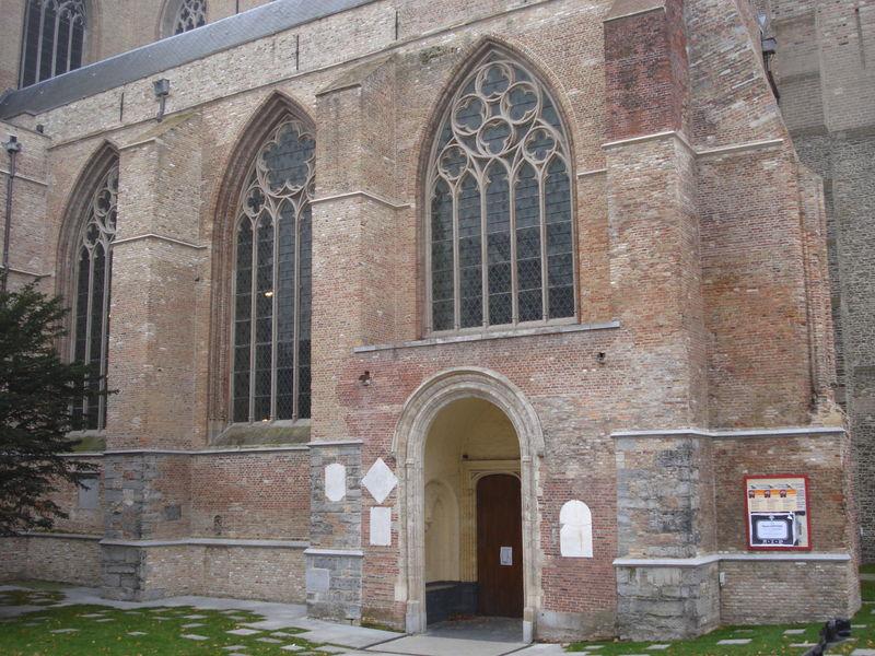 Bruges, église St-Sauveur, détail