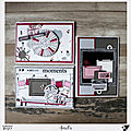 Trio de sketches & cartes par aurélie, cristina et christinef